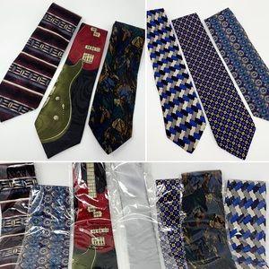 Artsy Necktie 7pc Lot DKNY Nordstrom + Tie Bundle